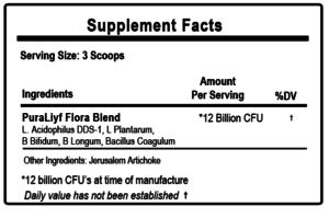 liyfbiotic supplement facts