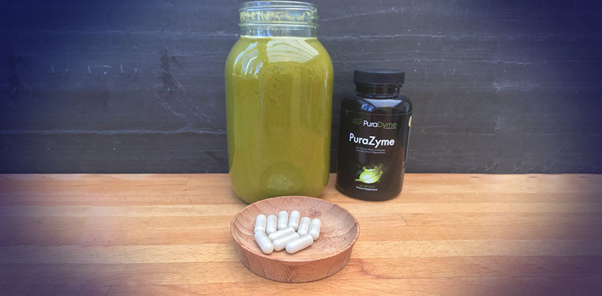My Raw Food Lifestyle Supplements PuraZyme